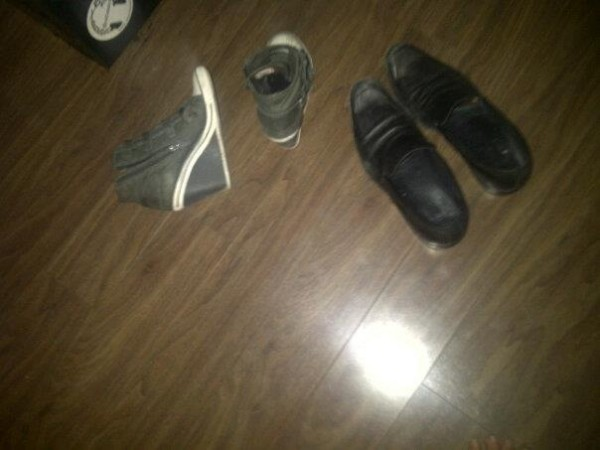 rocks shoes