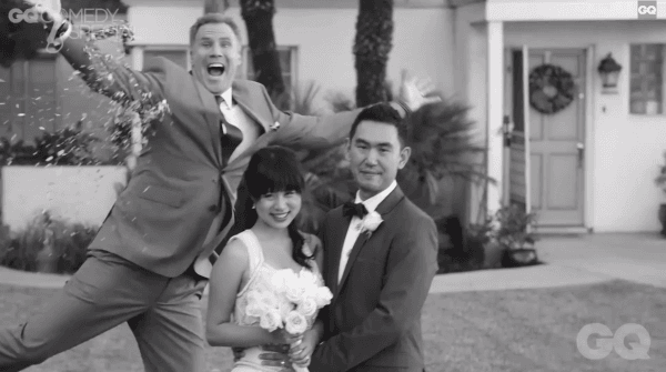 Will-Ferrell-GQ-Comedy-Special-Leonard-Kim-Sarah-Ho-Wedding-Shoot-2