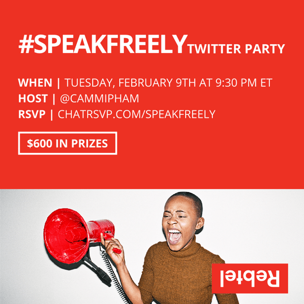 #Speakfreely Twitter Party