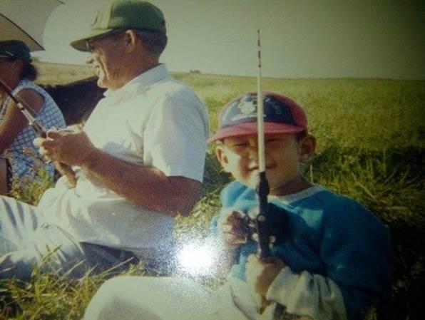 Leonard Kim as a kid